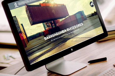 Diseño web Barrenechea SC.