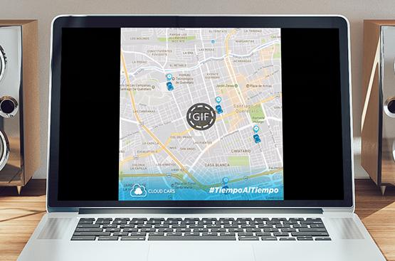Cloud Cars MapCloud Cars Map |