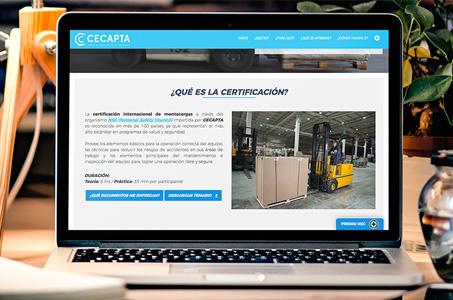 Certificación Internacional de MontacargasCertificación Internacional de Montacargas |